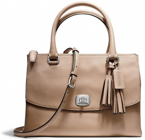 COACH Leather Legacy Harper Satchel - Style No. 25390 | Coach ...